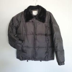 Women's Down Puffer Jacket - US L